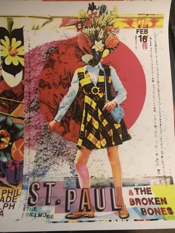 2019 St. Paul & the Broken Bones - Philadelphia Concert Poster by Nate Duval