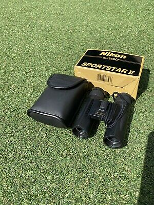 Nikon Sportstar II - binoculars 10 x 25 BOXED Case