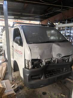 Wanted: Toyota Hiace Van x2 Write Off Suitable For Spare Parts