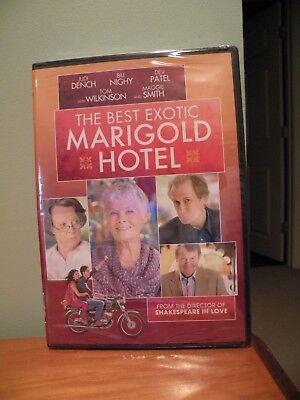THE BEST & 2ND BEST EXOTIC MARIGOLD HOTEL DVDS  (Best Exotic Marigold 2)