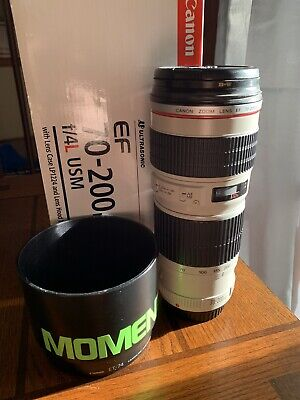 Canon Zoom Lens 70-200 f4 L usm