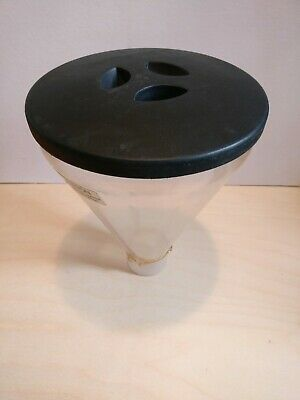 Used Mazzer Espresso Hopper For Super Jolly Coffee Grinder With Lid Repaired
