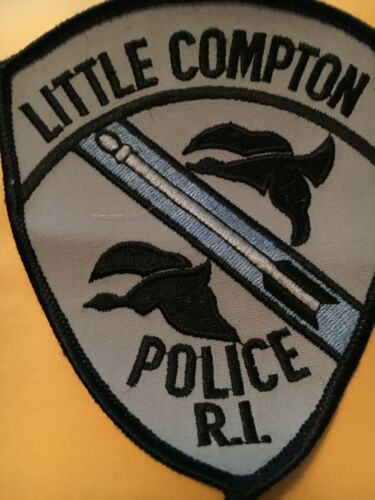 Little Compton Rhode Island Police Patch