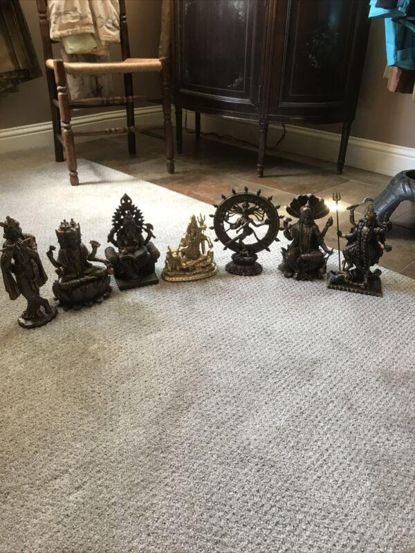 hindu deities vishnu shiva ganesha brahma kali krishna
