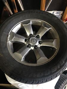 265/60R18 Toyota 4Runner rims and tires