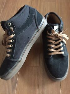 Vans high tops stake board shoes (s11)
