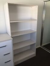 White and Grey Bookcase Bookshelf Kellyville Ridge Blacktown Area Preview