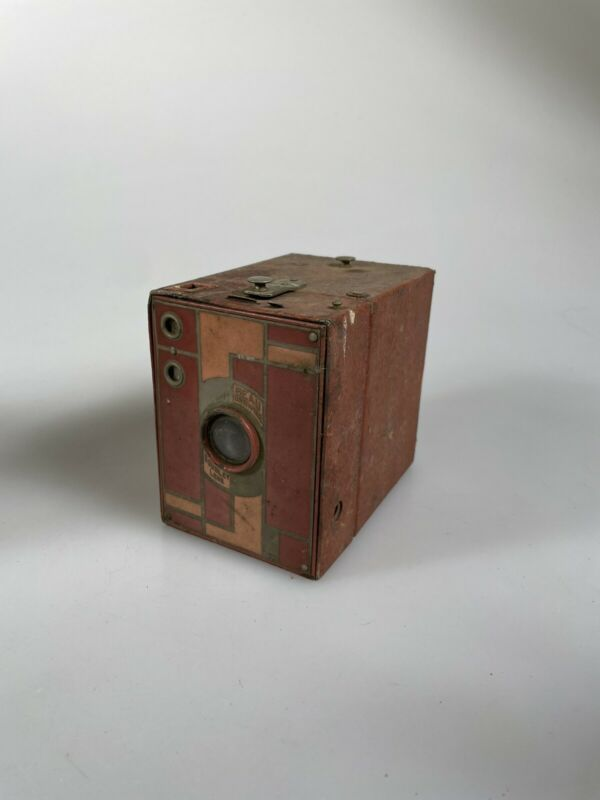 Kodak Beau Brownie #2 Rose Pink 116 RARE