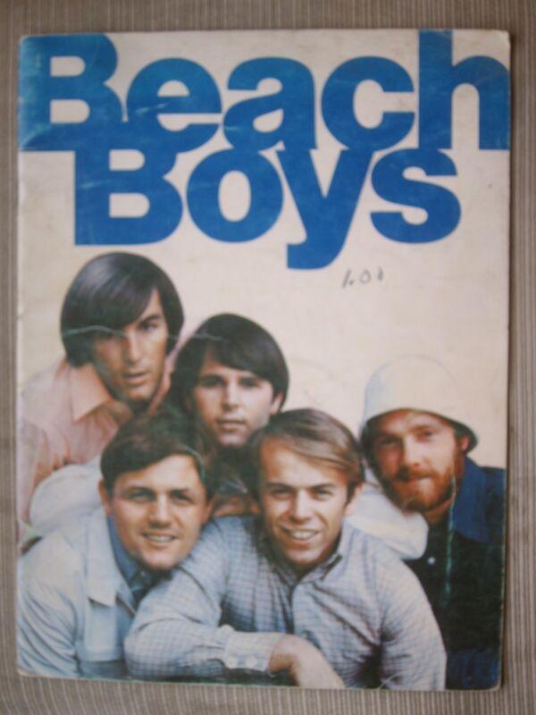THE BEACH BOYS. 1960s souvenir book. BRIAN WILSON, PET SOUNDS