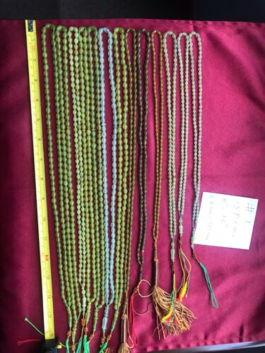 13 MIXED COLOR 99 BEADS SORTED GENUINE 30-38 CM LONG SHAH MAGHSOUD