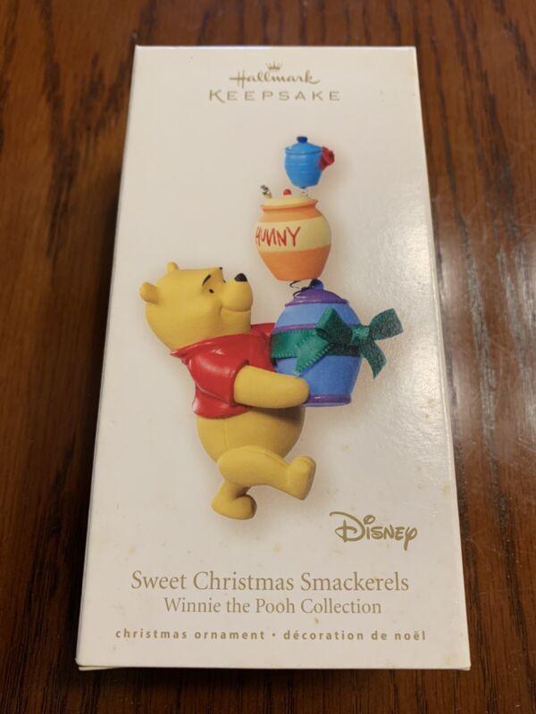 "Hallmark Disney Keepsake Ornament ""Sweet Christmas Smackerels"" Winnie the Pooh"