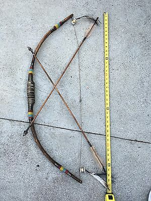 Native American Indian Bow and Arrow Home Decor