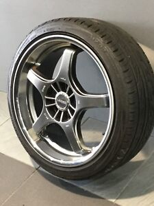 """LENSO GT-05 18"""" ALLOY WHEELS AND TYRES Carramar Fairfield Area Preview"""