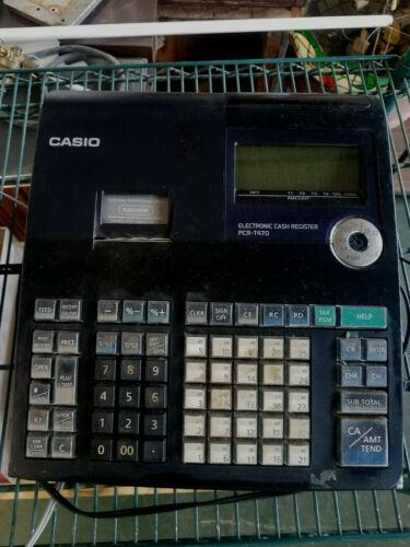 Casio Electronic Cash Register PCR-T470