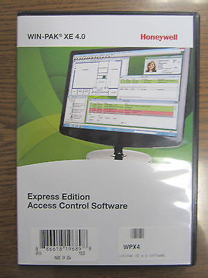 NEW Honeywell WPX4 Win-Pak XE 4.0 Express Edition Access Control Software