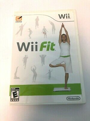 Wii Fit Nintendo Complete with Manual Rated E Everyone Exercise Fitness Workout