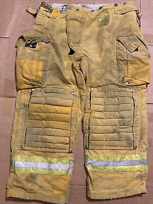 Morning Pride Firefighter Turnout Pants Bunker Gear W Liner 40 X 38 2009