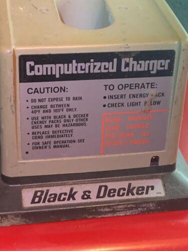 Genuine Black & Decker 98065 Computerized 60 Minute Battery Charger 9.6 Volt