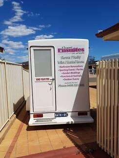 selling mobile bathroom on wheels