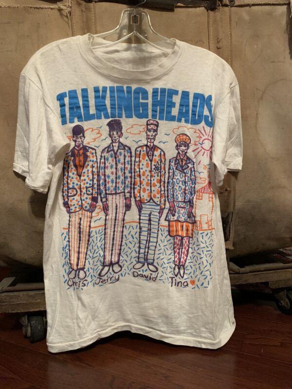 Talking Heads RARE Vintage Shirt David Byrne
