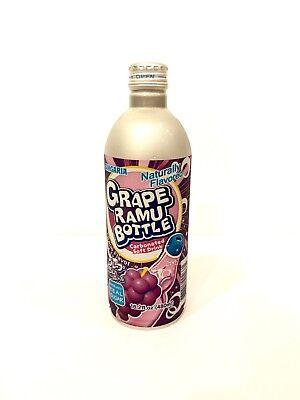Ramune Ramu Carbonated Soft Drink Soda (Grape, Strawberry, Original Flavor) ()