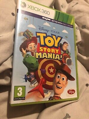 Toy Story Mania (Xbox 360) - Pal - Tested -Fast Free Postage