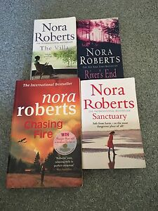 4 Nora Roberts novels for $10 Cleveland Redland Area Preview