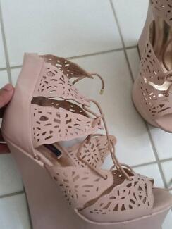 Brand new laser cut heels