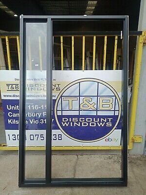 Aluminium Door Entry with side light  2114H x 1330W (Item 4347/4)