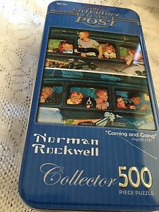 Norman Rockwell 500 piece puzzle