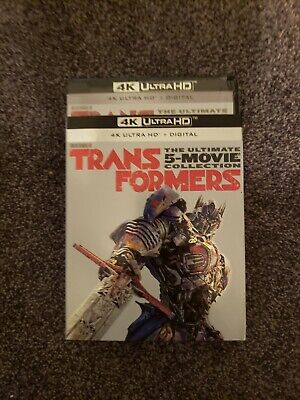 TRANSFORMER THE ULTIMATE 5-MOVIE COLLECTION 4K ( 4K UHD + BLU RAY)No Digital