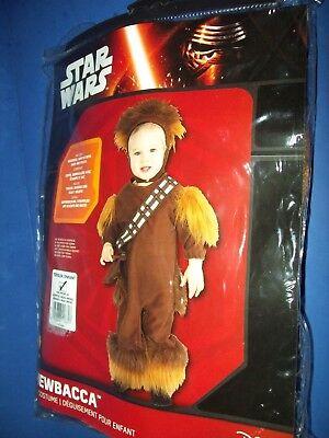 Star Wars Halloween Kostüm Kleinkind - Chewbacca 24 Monate 2 Jahre Neu