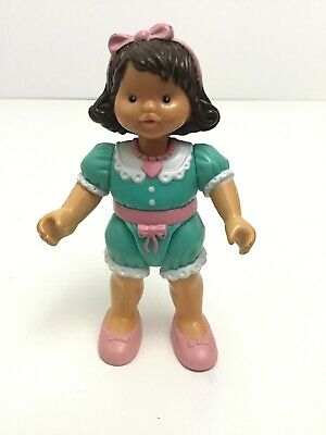Fisher Price Loving Family Dream Dollhouse Toy Brown Hair Girl Doll Vintage 1995