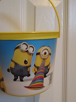 Despicable Me MINIONS Party Pail Bucket Treat Bag  NEW - Minion Halloween Bags