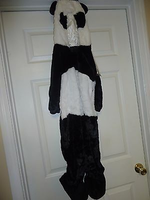 Panda Bear Plush Halloween Costume Jumpsuit Baby Toddler Sz 18-24 months NWT - Panda Bear Costume Toddler