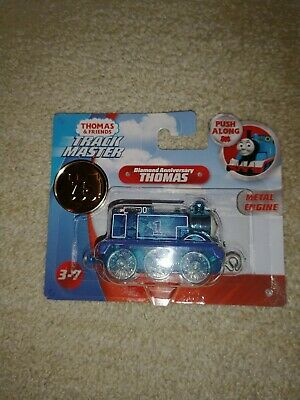 Thomas and Friends Trackmaster diamond anniversary metal, push along train. 75th