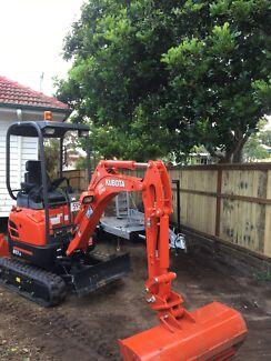 Mini Excavator Dry Hire