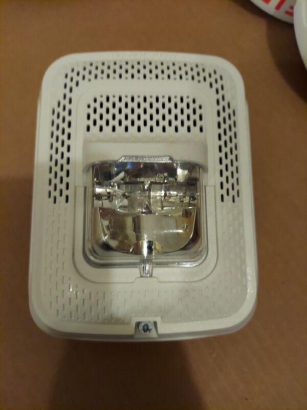 System Sensor Wall Speaker Strobe SPSWL - White