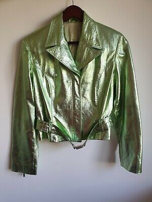 Rare Versace Classic V2 Leather Jacket Good Condition