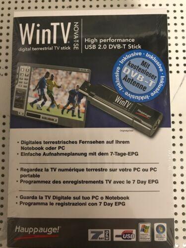 WinTV Hauppauge USB 2.0 DVB-T Stick OVP