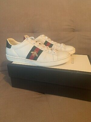 Womens 37.5 Uk 4.5 | 5 | 5.5 Gucci Ace Embroided Sneaker Designer Trainers  Bee