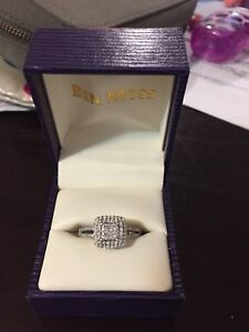Selling Engagement Ring with Custom Wedding Band