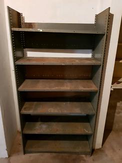 Free metal garage storage shelf