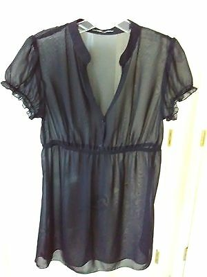 Love Squared Summer Dress Black Pool Beach Cover Up Transparent See Thru Sexy