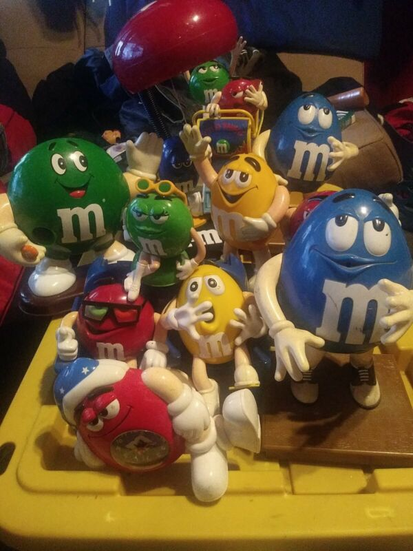 M m collectible candy dispensers