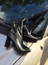 Size7 black boots Adelaide CBD Adelaide City Preview