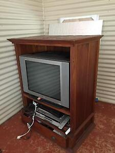 Wooden tv unit Middle Swan Swan Area Preview