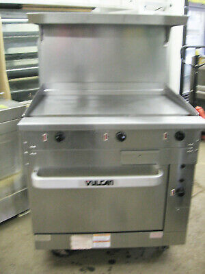 36 Vulcan Range Griddle Grill Flat Top 440-480 Volt Electric W Standard Oven