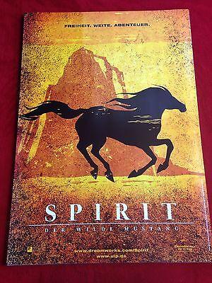 Spirit Der wilde Mustang Kinoplakat Filmplakat Poster A1 Teaser