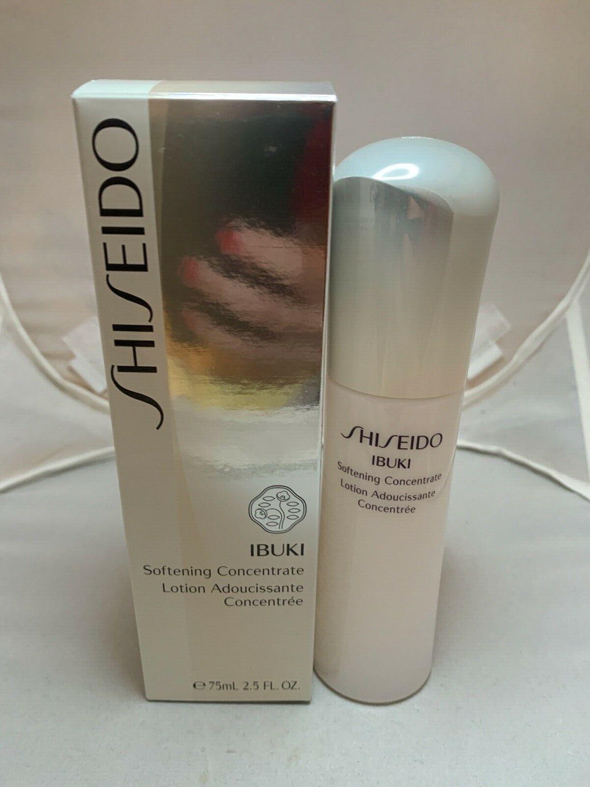 Shiseido Ibuki Softening Concentrate Lotion 2.5 oz 75 ml New